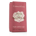 Pear & Pink Magnolia Triple Milled Soap Single 100g/3.5oz