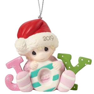 Babys First Christmas 2019 Ornament Girl 191005