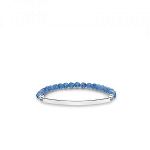Love Bridge Dumortierite Bracelet LBA0001-624-32 17.5cm