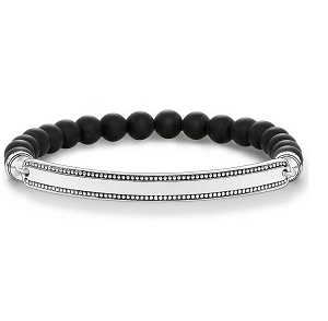 Love Bridge Matt Black Bracelet LBA0016-704-11 17.5cm
