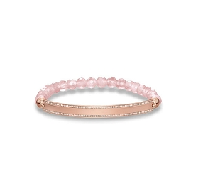 Love Bridge Rose Gold Bracelet LBA0007-537-9 17.5cm