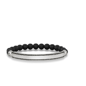 Love Bridge Black Obsidian Bracelet LBA0007-705-11 17.5cm