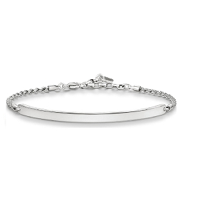 Love Bridge Blackened Silver Bracelet LBA0008-637-12 21cm