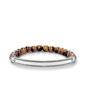 Love Bridge Tigers Eye Bracelet LBA0016-826-2 18.5cm