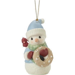 Peace On Earth Annual 2020 Snowman Ornament 201018
