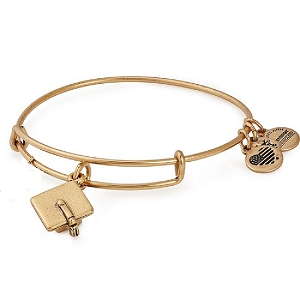 Graduation Cap Charm Bangle Rafaelian Gold