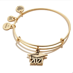 Class of 2021 Charm Bangle Rafealian Gold