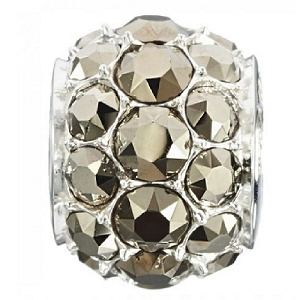 Splendor Metallic Light Gold Swarovski Bead 2025-1273