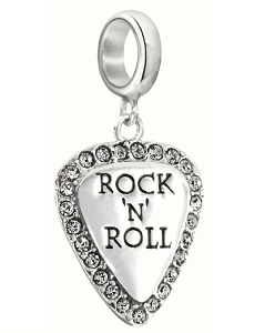 Lil'Bit Rock N' Roll Guitar Pick with Swarovski 2025-1311