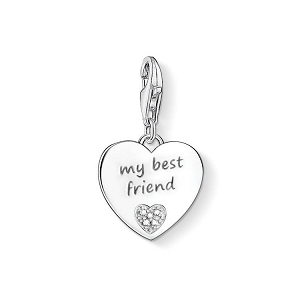 Diamond My Best Friend Charm DC0024-725-14