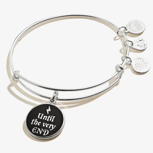Harry Potter Until the Very End Charm Bangle Shiny Silver