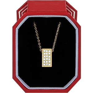 Meridian Zenith Gold Necklace Gift Box JD1555
