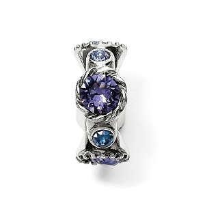 Halo Stargazer Spacer Tanzanite JC4993