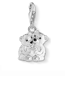 Bear Couple Charm 1333-007-11