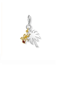 Palm Tree with Monkey Charm 1348-414-10