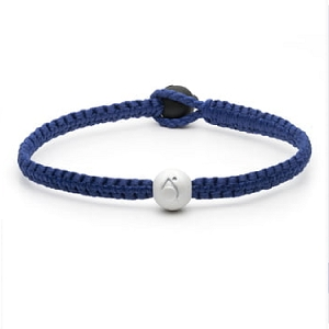 Single Wrap Bracelet Royal Blue Medium