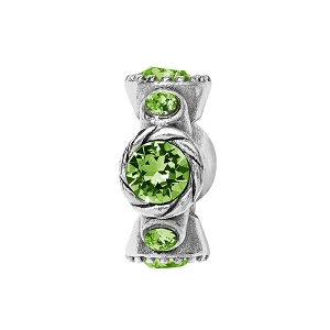 Halo Stargazer Spacer Peridot JC499F