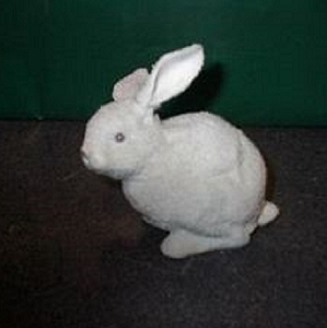 Dept 56 Snowbunnies Easter 1997 Annual Bunny Rabbit  Large 23700