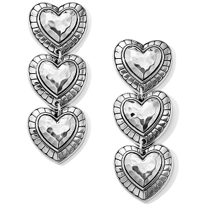 Big Sky Heart Post Drop Earrings JA6380