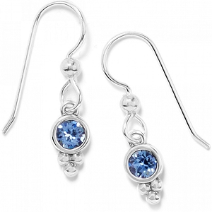Color Drops French Wire Earrings Blue JA7393