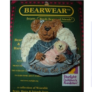 Boyds Bears Pin Charity Angelhug and Everychild 26039