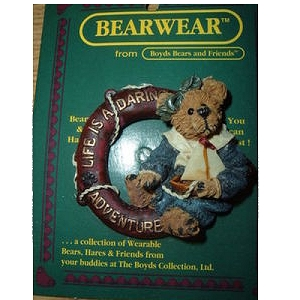 Boyds Bears Pin Bailey Life is Daring 26106