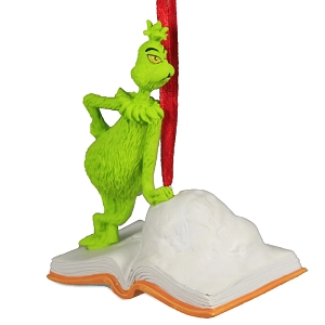 Grinch Open Book Ornament 6006796
