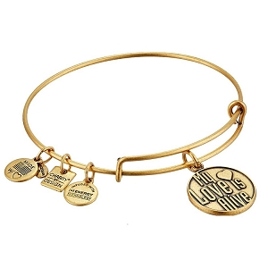 My Love is Alive Bangle Rafaelian Gold