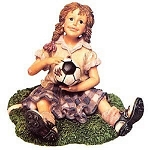 Boyds Dollstones Yesterdays Child  Mia Soccer Girl 3549