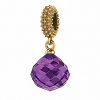 Mysterious Drop Gold Amethyst 3801-1