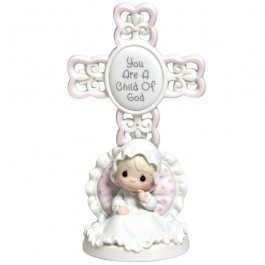 Precious Moments Christening Child of God Girl 4004681