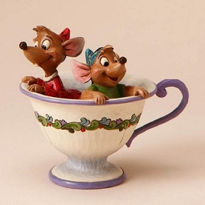 Cinderella Jaq and Gus in Tea Cup 4016557