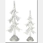 Icy Trees Set of 2 4020265