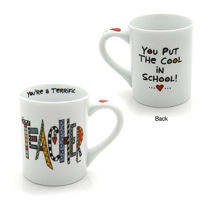 Our Name is Mud Cool Teacher Porcelain Mug 16 oz 4024420