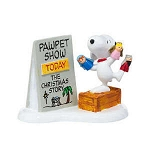 Department 56 Peanuts Snoopys Christmas Pawpet Show 4026958