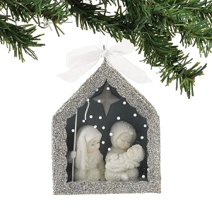 Nativity Shadow Box Ornament 4027355