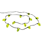 Halloween String of 12 Skull Lights 4033848