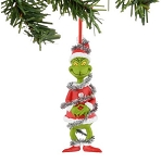 Department 56 Grinch In Tinsel Ornament 4037486