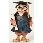 Miniature Graduation Owl Figurine 4039477