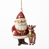 Santa and Rudolph 50th Anniversary Ornament 4041650