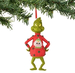 Grinch in Elf Sweater Ornament 4044922