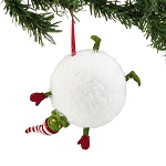 Grinch Sports Snowball Ornament 4044999