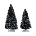 Bag O Frosted Topiaries Medium Trees 4047562