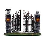 Halloween Spooky Wrought Iron Gate 4047599