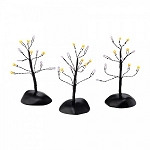 Twinkle Brite Halloween Shrubs Set of 3 40476274