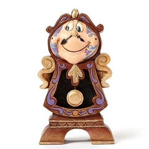 Beauty and The  Beast Cogsworth Figurine 4049621