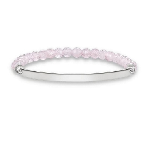 Love Bridge Rose Quartz Bracelet LBA0001-034-9 17.5cm
