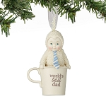 Snowbabies Worldï¾'s Best Dad Ornament 4051899