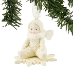 Snowbabies Drifting On a Snowflake Ornament 4051923