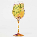 Best Aunt Ever Wine Glass 4053095